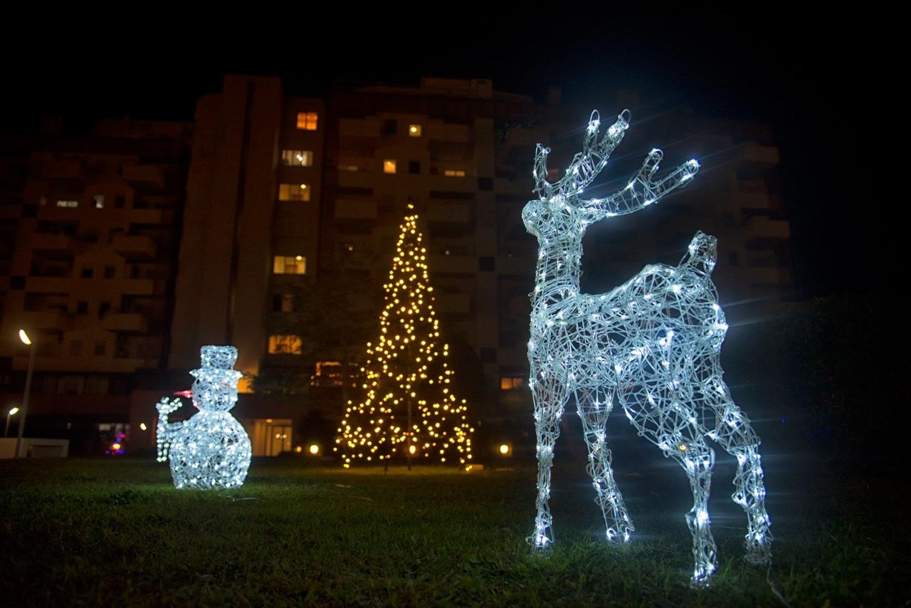 Il più bel Condominio addobbato per Natale a Ostia
