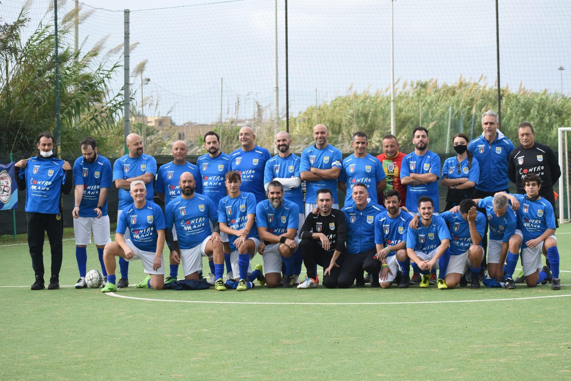 Facciamo rete, il triangolare di calcio organizzato dalla Nazionale Italiana Poeti