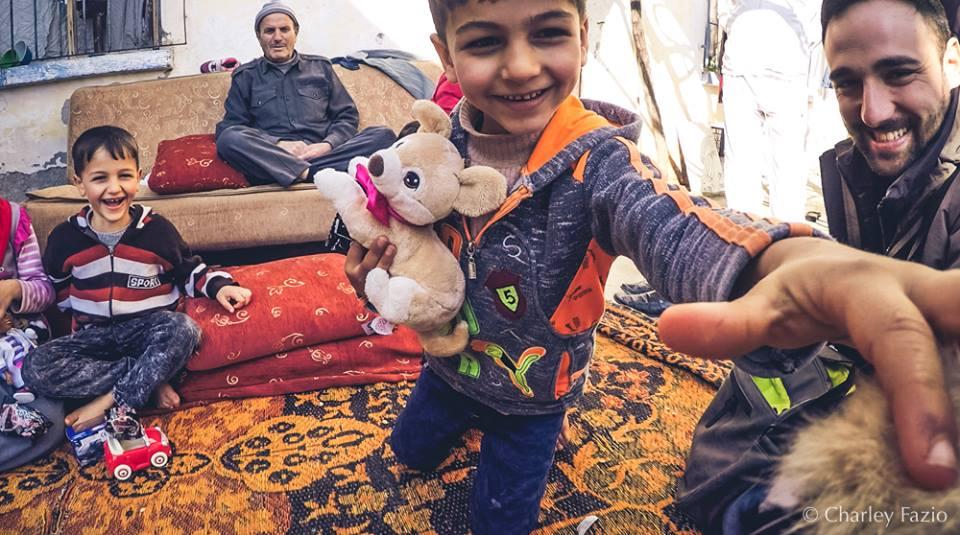 Marco Severa e la missione in Turchia, ai confini con la Siria