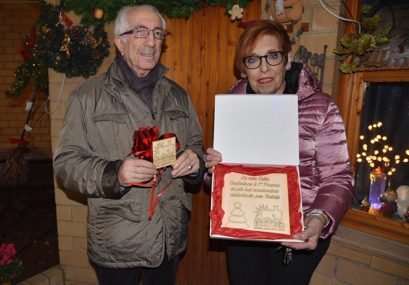 Il più bel condominio di Ostia addobbato per Natale