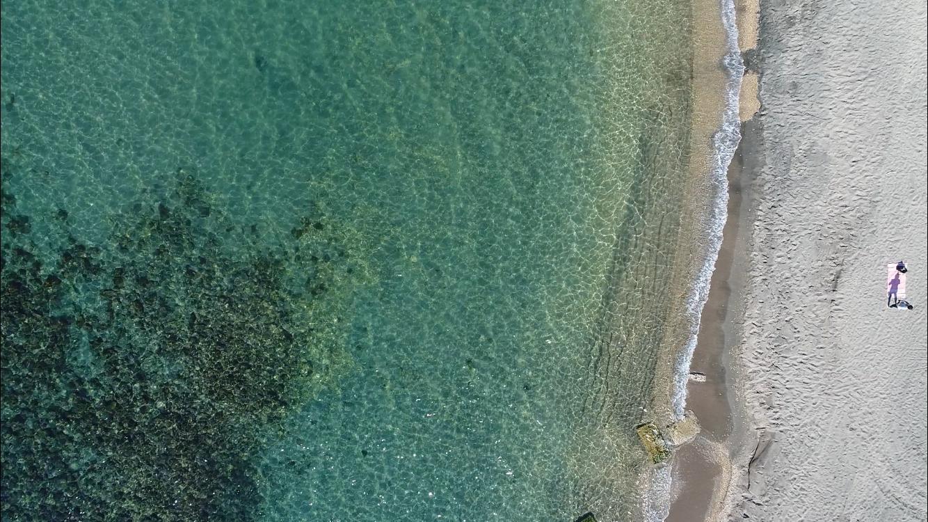 Dal mare al Canale dei Pescatori in drone