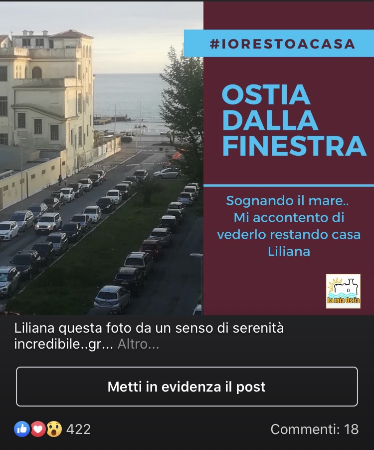 La classifica di Ostia dalla finestra: un grande successo