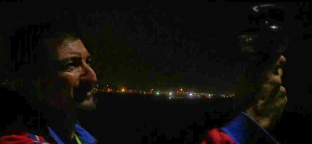 Cronaca di una serata di vento forza sette