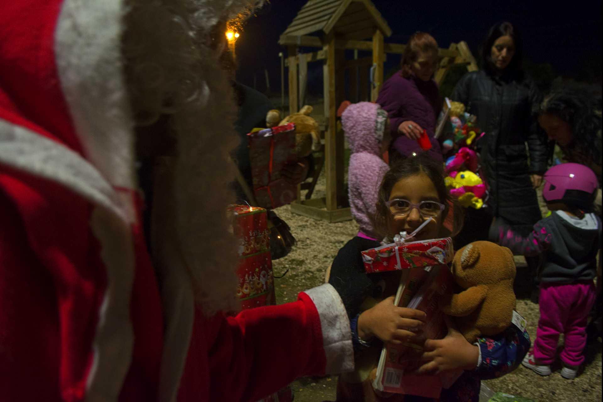 Babbo Natale si è fermato all'Idroscalo