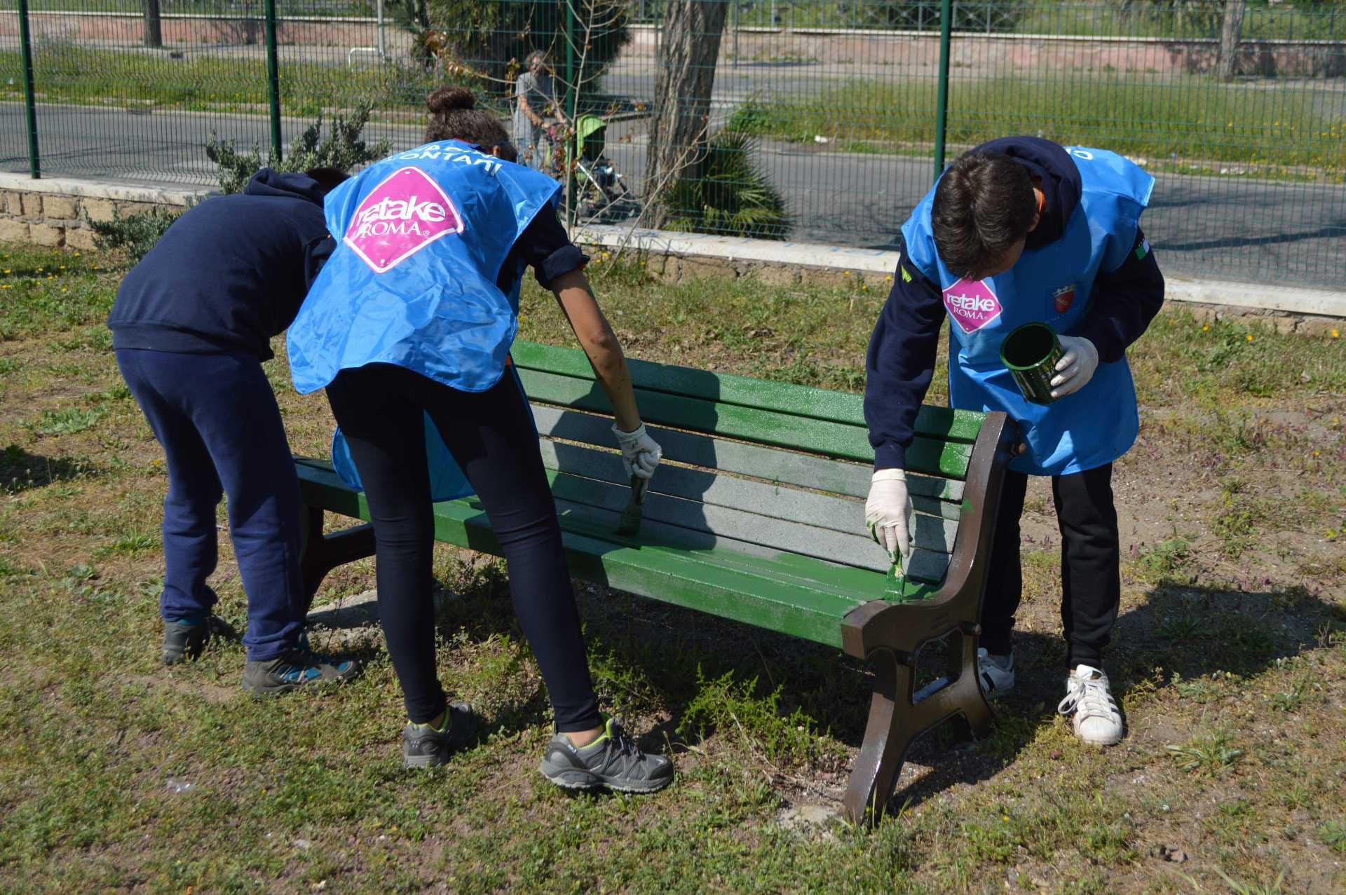 Retake Ostia ed il Gruppo Scout ASEI nel parco Gianni Rodari