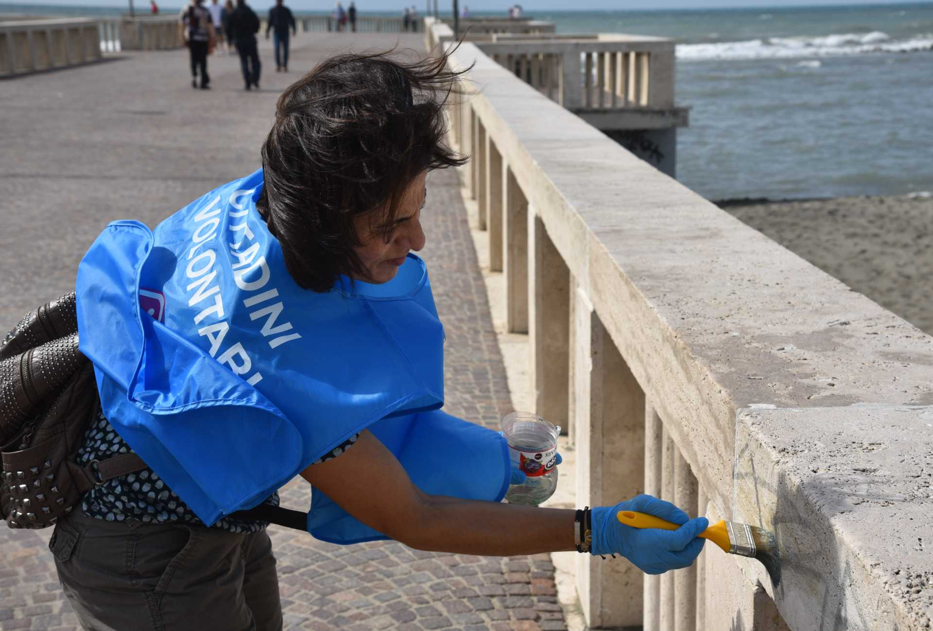International Costal Cleanup day a Ostia