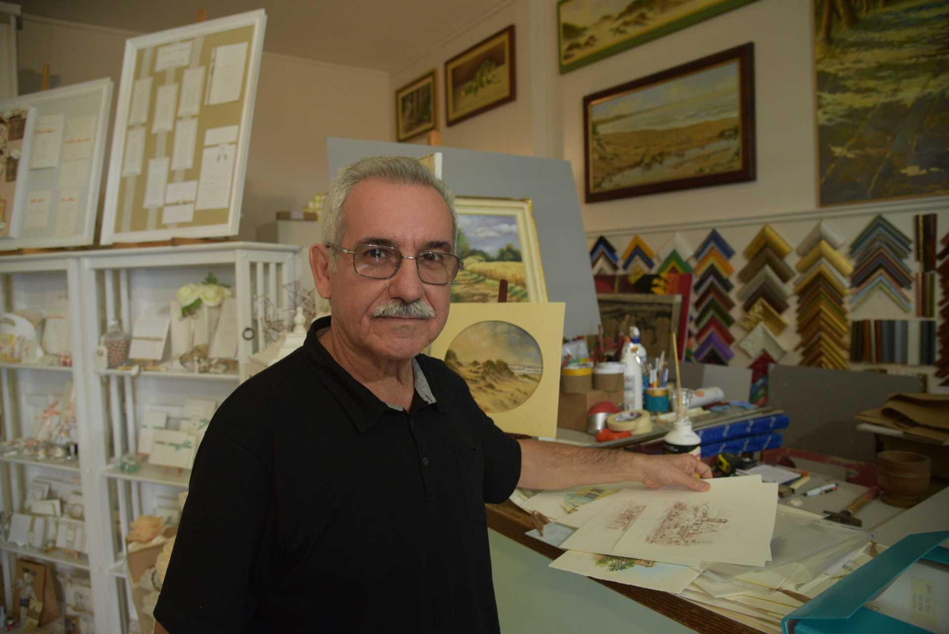 Clemente Caramaschi: come si fa a non dipingere?