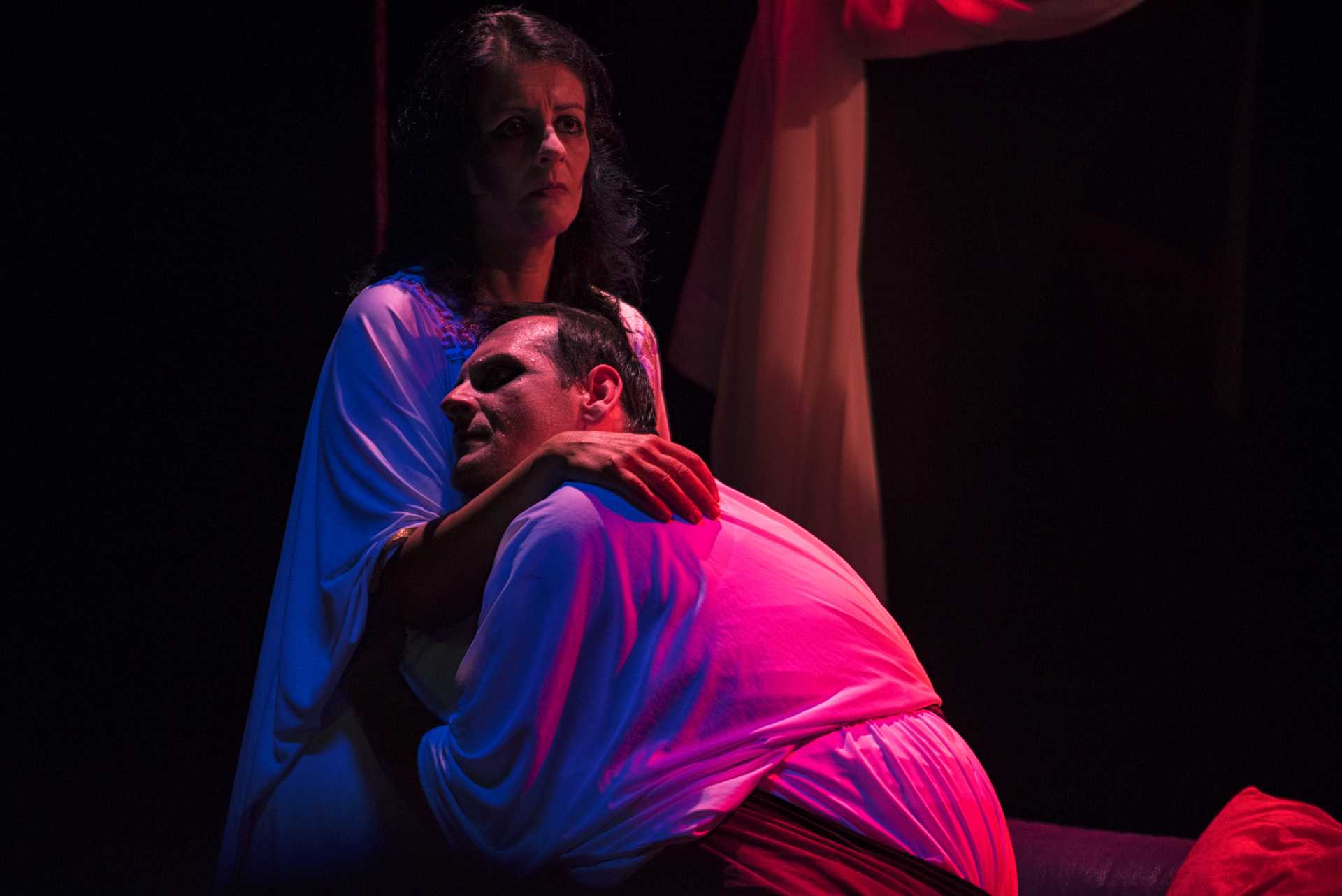 Edipo di Sofocle in scena al Teatro Pegaso di Ostia