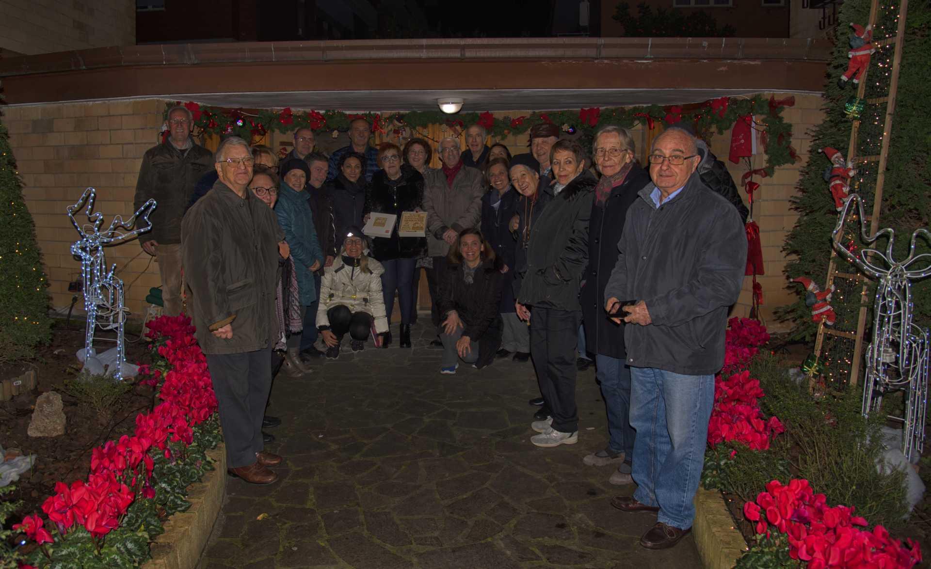 Premiati i condomini più belli di Ostia addobbati per Natale