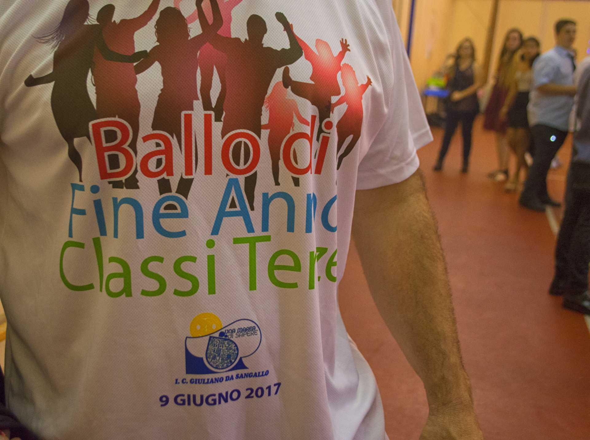 Ballo di fine anno della scuola media Sangallo