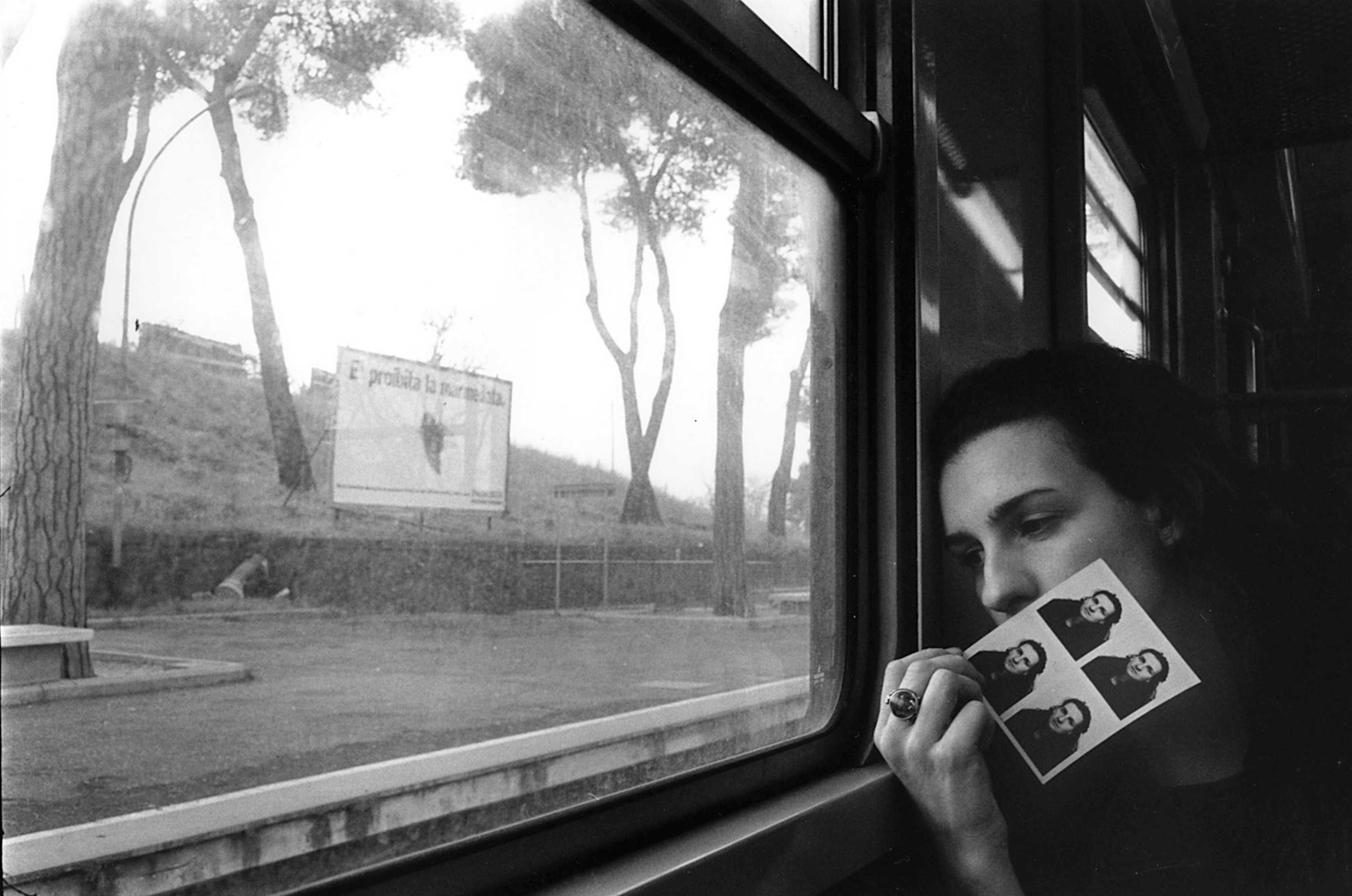 La magia di un incontro, sul trenino