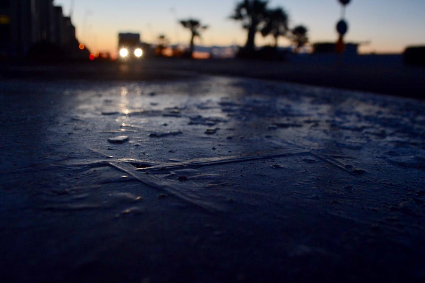 Attenzione: gelo a Ostia