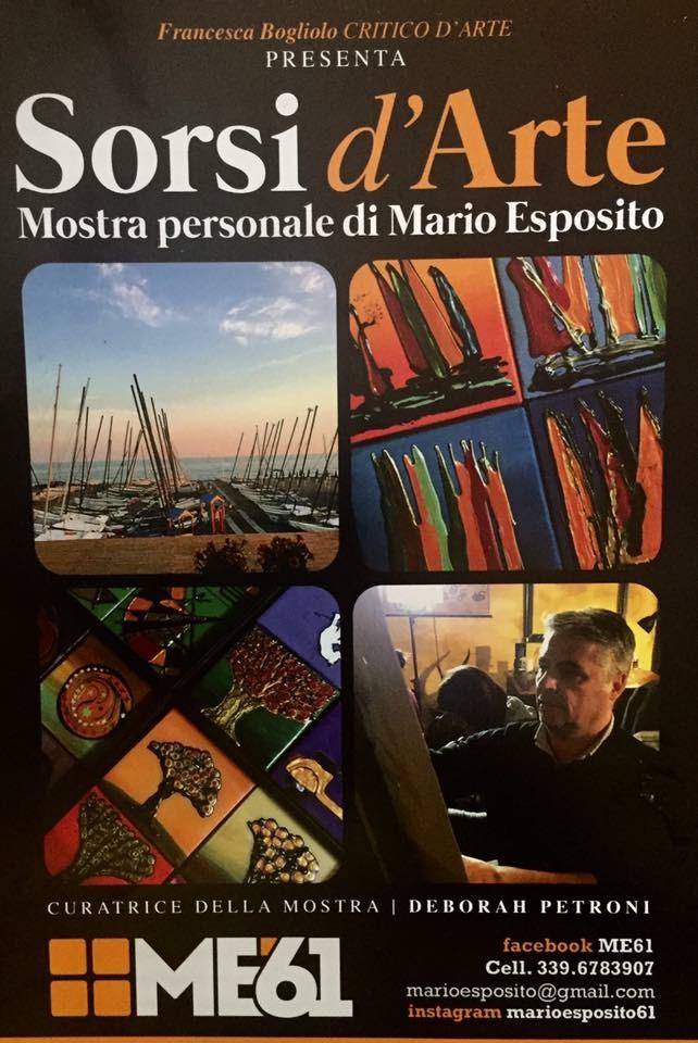 Sorsi d'arte: Mario Esposito espone alla Lega Navale di Ostia