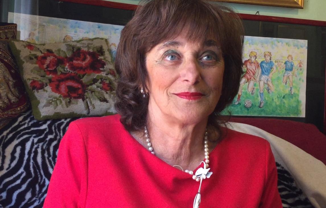 Una donna dolce e combattente per Ostia: Alessandra Perlusz