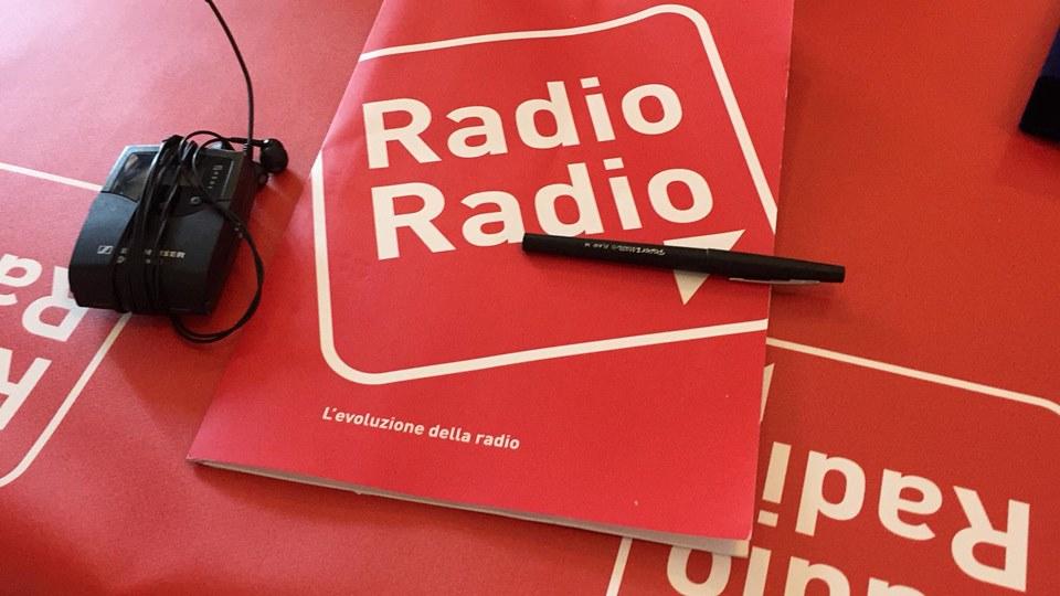 Intervento in diretta de La mia Ostia a Radio Radio